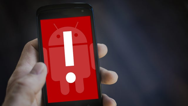 Android security is a problem, especially compared to iOS