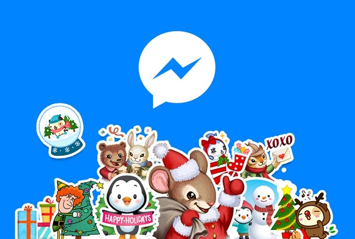 Facebook Messenger Christmas Update