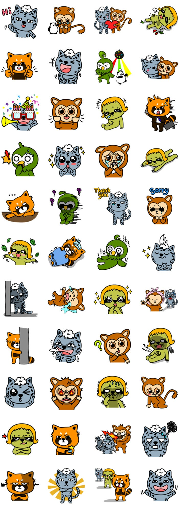 The funniest stickers for Facebook Messenger