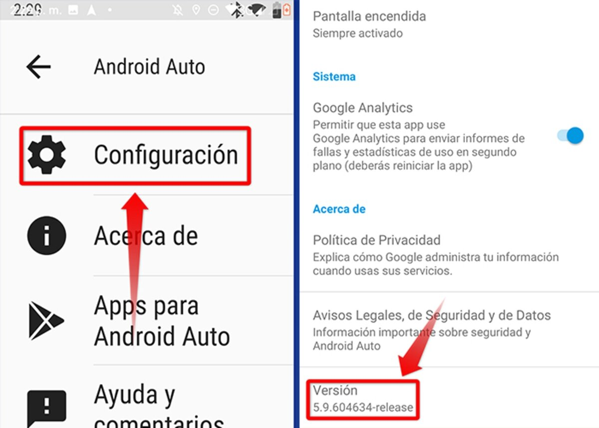 so you can activate the developer mode in Android Auto