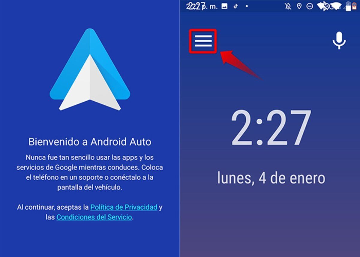 Steps to activate developer mode in Android Auto