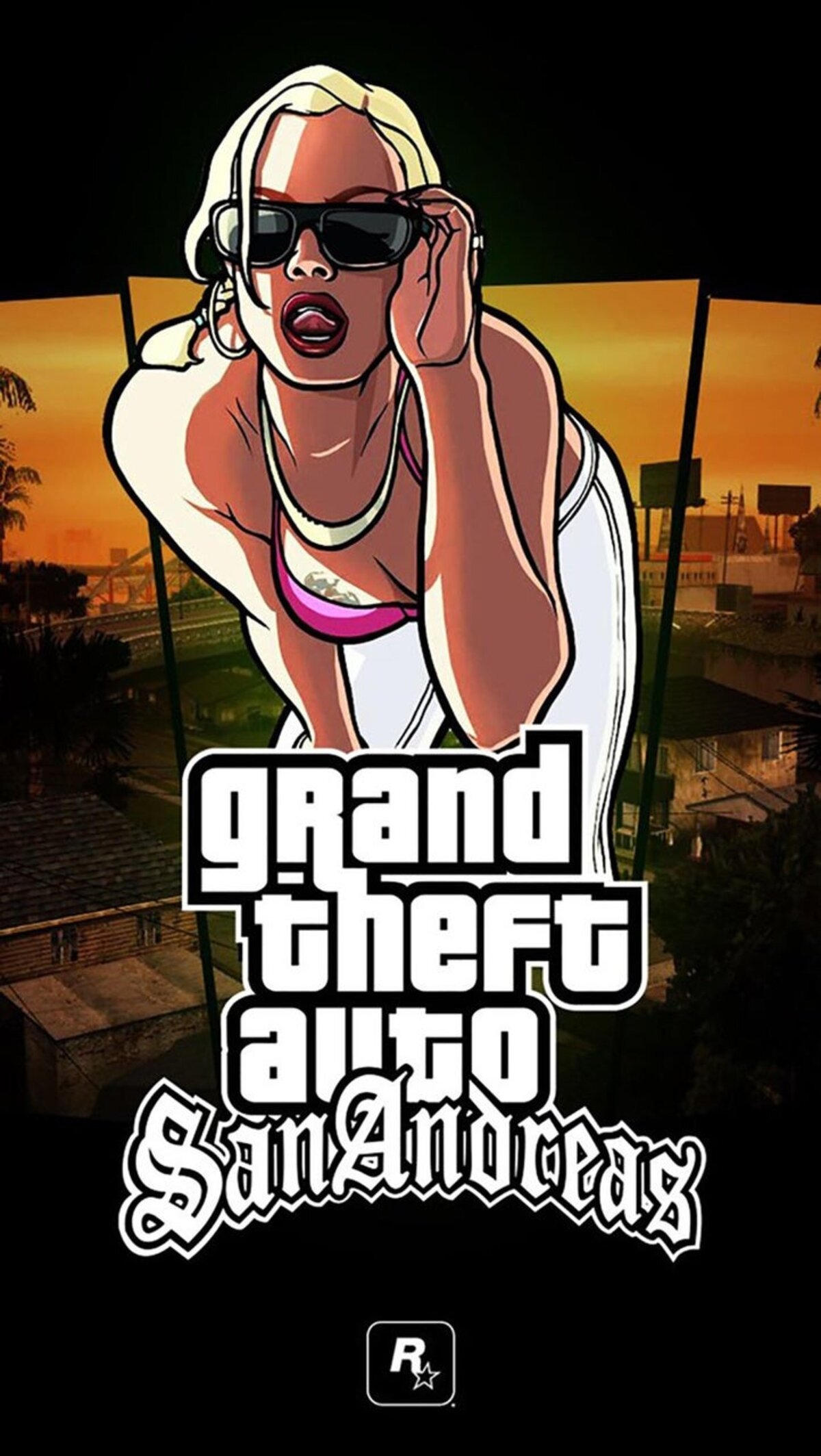 The best Grand Theft Auto: San Andreas wallpapers for mobile