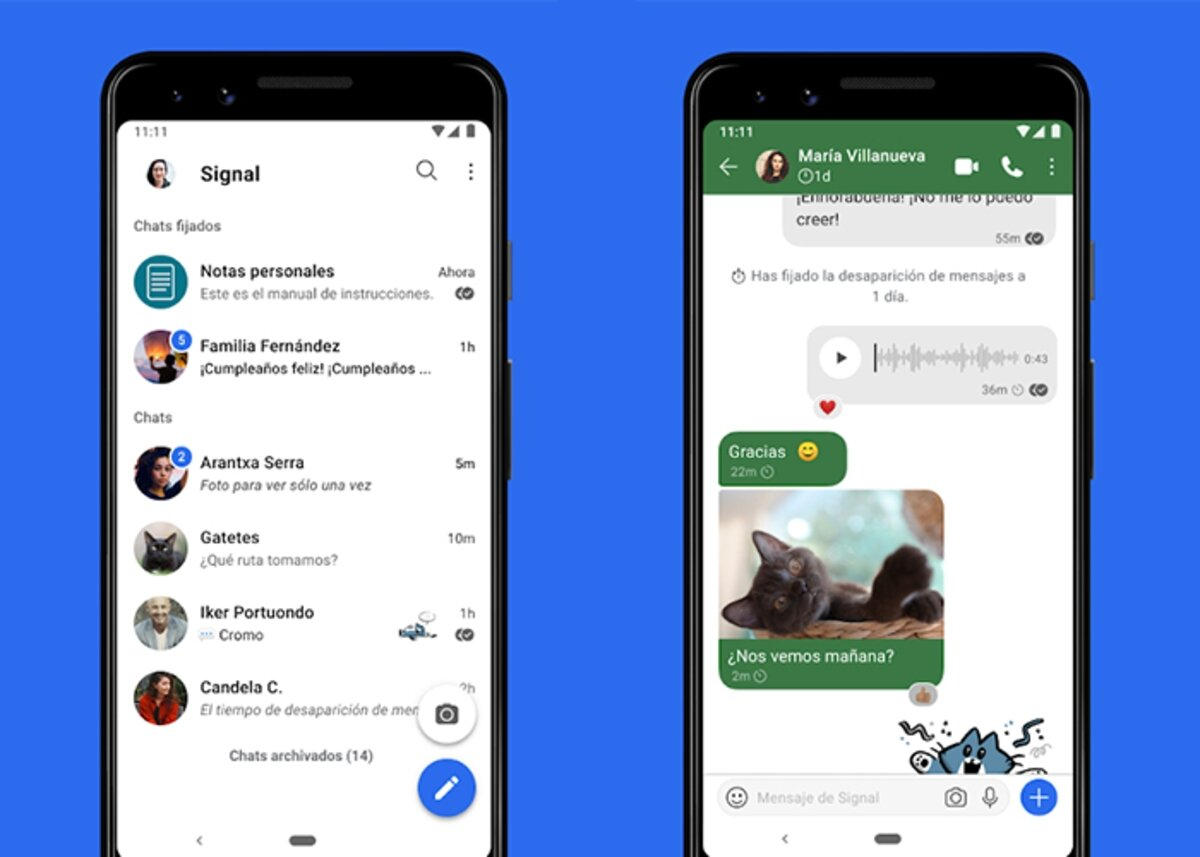 Signal is the best option to WhatsApp