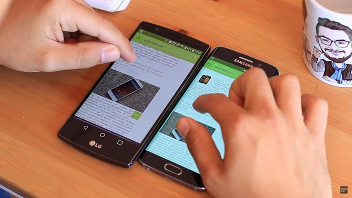 On-screen buttons vs.  Capacitive LG G4 and Galaxy S6