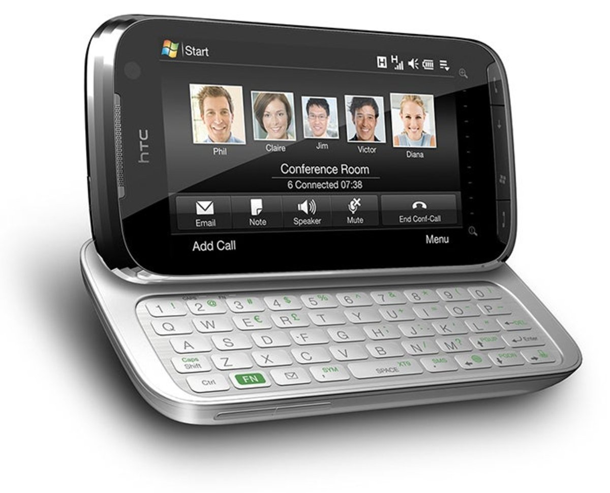 Close-up of the HTC Touch Pro2