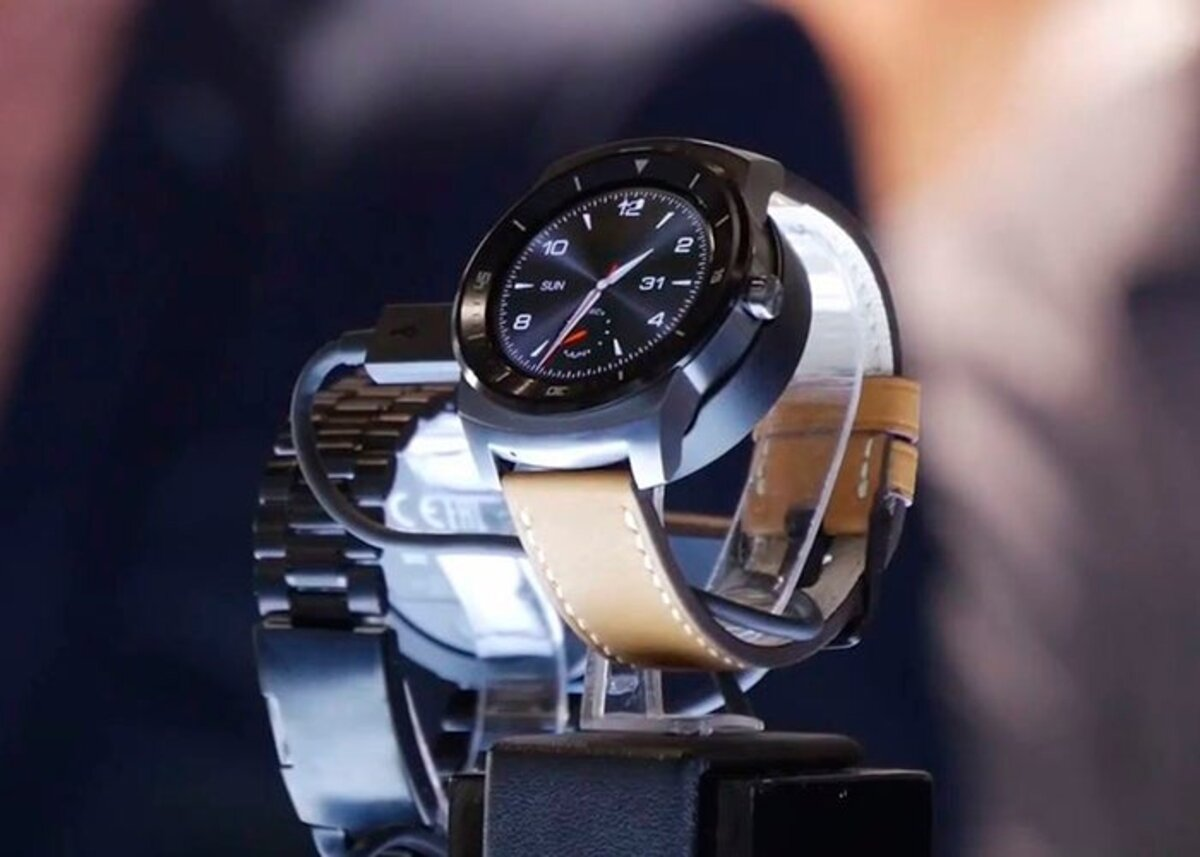 General plan of the LG G Watch R