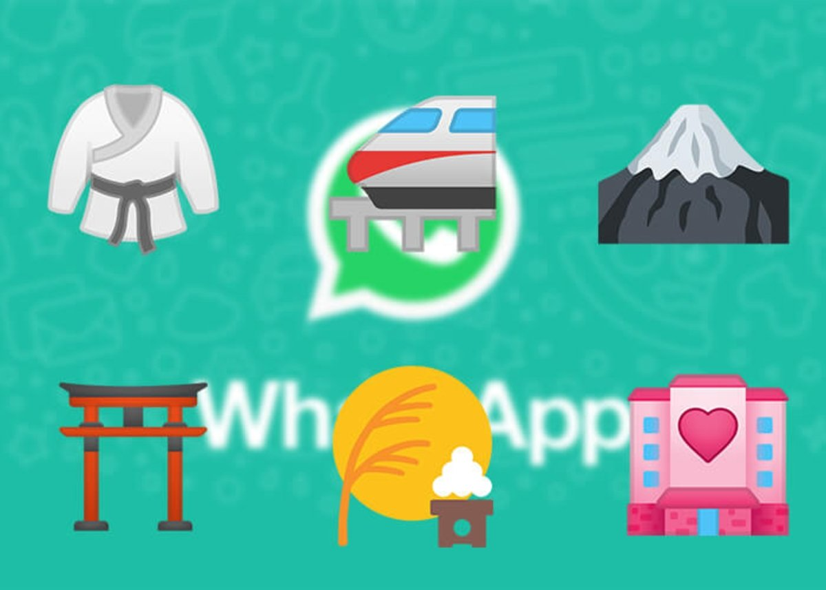 Japanese emojis of activities, travel and places