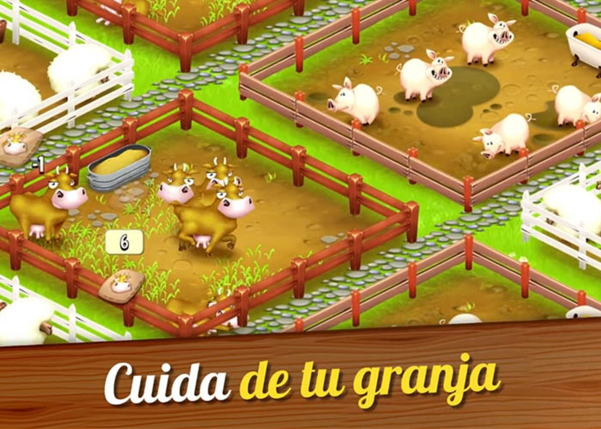 Take care of your farm in Hay Day