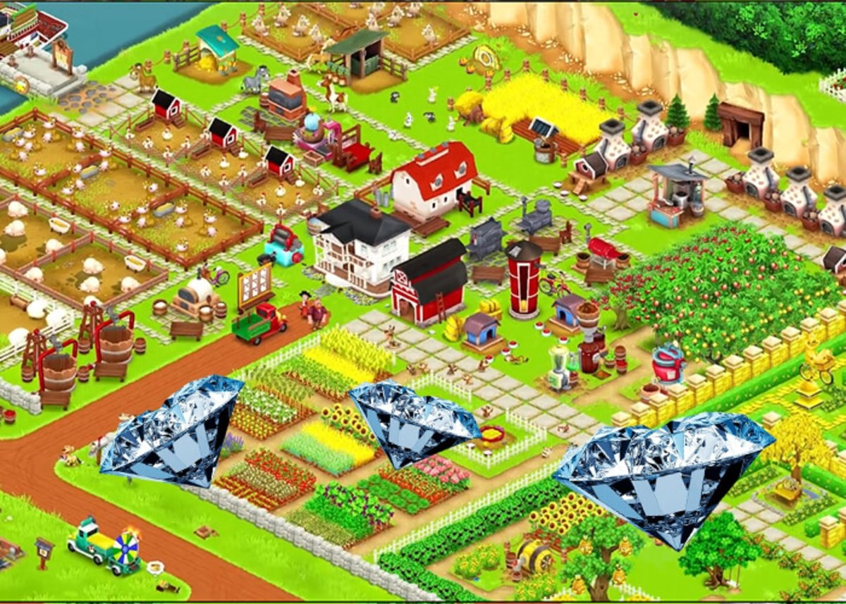 Get more diamonds on Hay Day
